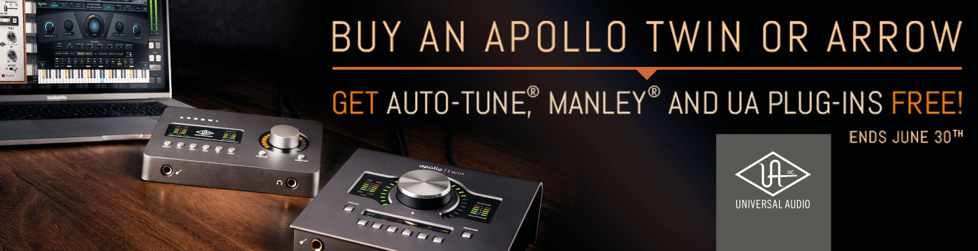 Universal Audio Apollo Twin Solo | Apollo Twin Solo | GAK