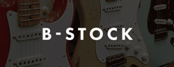 B-stock guitars drums and musical instruments